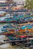 Indein port at Inle lake Stock Photo