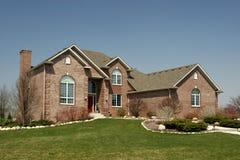 indelning i underavdelningar för home hus för familj bostads Royaltyfria Bilder