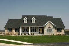 indelning i underavdelningar för home hus för familj bostads Arkivbild