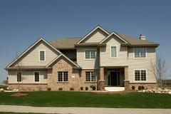 indelning i underavdelningar för home hus för familj bostads Arkivfoton