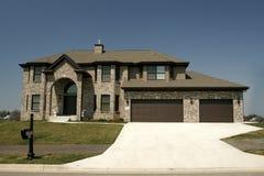 indelning i underavdelningar för home hus för familj bostads Royaltyfri Fotografi