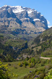 Inden, Canton of Valais, Switzerland Royalty Free Stock Photography