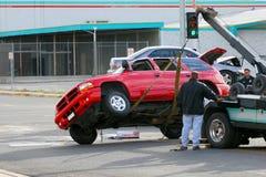 Indennizzo di assicurazione contro i danni Fotografie Stock