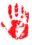 Indentity Handprint Royalty Free Stock Photo