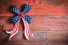 Indepedence-Tagesam 4. juli Emblem Lizenzfreie Stockfotografie