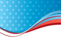 Independência abstrata EUA dos fundos do vetor Imagens de Stock