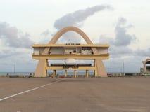 Independência Accra quadrado Imagens de Stock