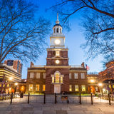 Independência Hall National Historic Park Philadelphia Foto de Stock