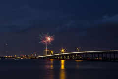 Independência no rio Fotografia de Stock
