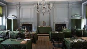Independência Salão em Philadelphfia Imagens de Stock Royalty Free