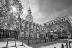 Independência Salão em Philadelphfia, Pensilvânia EUA imagens de stock