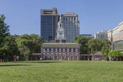 Independência Salão, Philadelphfia fotografia de stock
