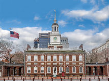 Independência Salão - Philadelphfia, Pensilvânia, EUA foto de stock