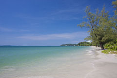 Independance beach in Sihanoukville Cambodia Stock Images