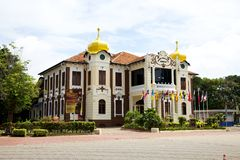 Independance Memorial. The Proclamation Of Independence Memorial, Malacca Malaysia stock images
