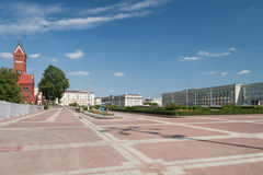 Independance Square, Minsk Stock Images