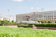Independance Square, Minsk Stock Image