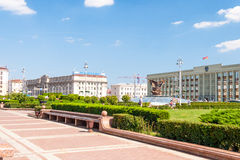 Independance Square, Minsk Royalty Free Stock Photos