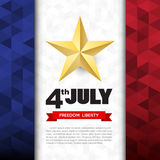 Independce Day Design Element Stock Image