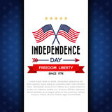 Independce Day Design Element Royalty Free Stock Photography