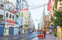 The Independence avenue Royalty Free Stock Photography