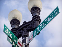 Independence Avenue Stock Image