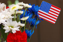 Independence Bouquet Royalty Free Stock Images