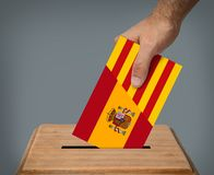 Independence of Catalonia concept. royalty free stock photo