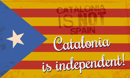 Independence Catalonia Stock Photos