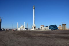 Independence Column in Astana Stock Photos
