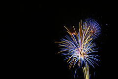 Independence Day. Fireworks from the 4th of July Royalty Free Stock Photography