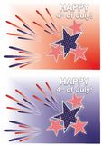 Independence Day of 4th July. Royalty Free Stock Photos