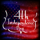 Independence day abstract background Royalty Free Stock Image