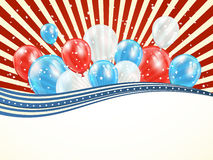 Independence day abstract background Royalty Free Stock Images