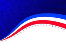 Independence day abstract background Stock Photography