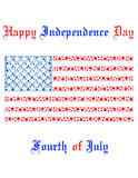 Independence Day in America Stock Photos