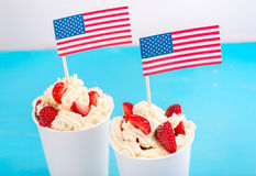 Independence Day of America, the day of the American flag Royalty Free Stock Photography