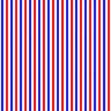 Independence Day of America seamless pattern. July 4th an endless background. USA national holiday repeating texture. With stripes. Vector illustration Stock Illustration