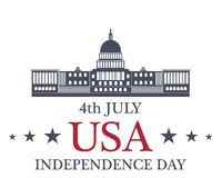 Independence Day. America Stock Image