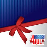 Independence day American sign Royalty Free Stock Photos