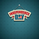 Independence day American signs Royalty Free Stock Photos