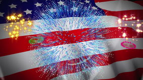 Independence day animation Stock Photos