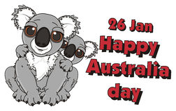 Independence day of Australia Royalty Free Stock Photos