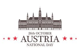 Independence Day. Austria Royalty Free Stock Photo
