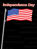 Independence day background Royalty Free Stock Photo
