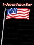 Independence day background. Illustration Royalty Free Stock Photo