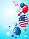 Independence day background - 2 Royalty Free Stock Photos