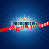 Independence day background Stock Photo