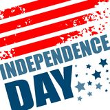 Independence Day Background. Abstract  grunge Royalty Free Stock Photos