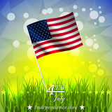 Independence day,  background Royalty Free Stock Photography